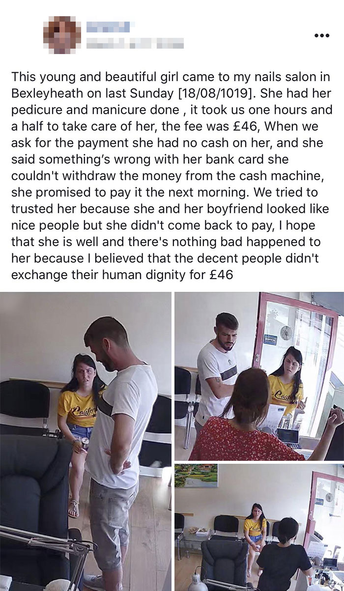 People Don't Exchange Their Human Dignity For £46