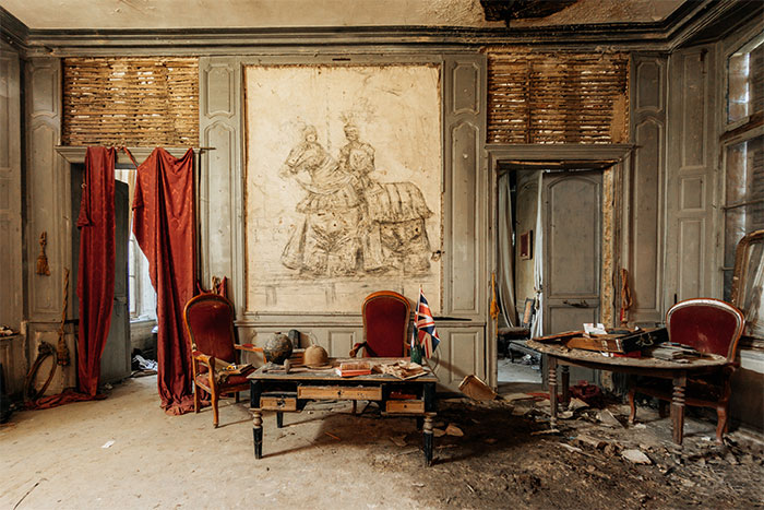 I Explored This Abandoned French Castle Before It Was Burned To The Ground
