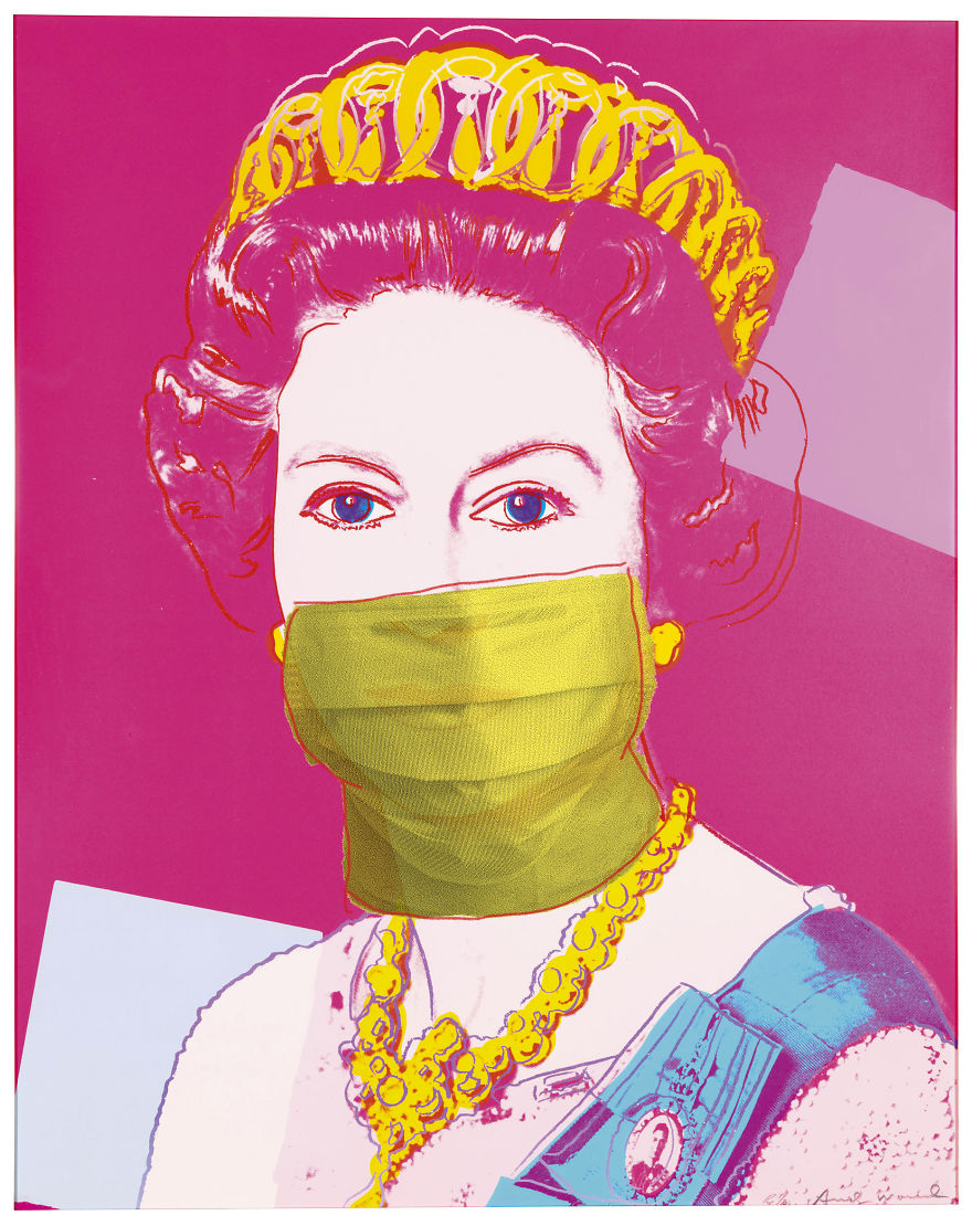 Queen Elizabeth II 336 By Andy Warhol, 1985