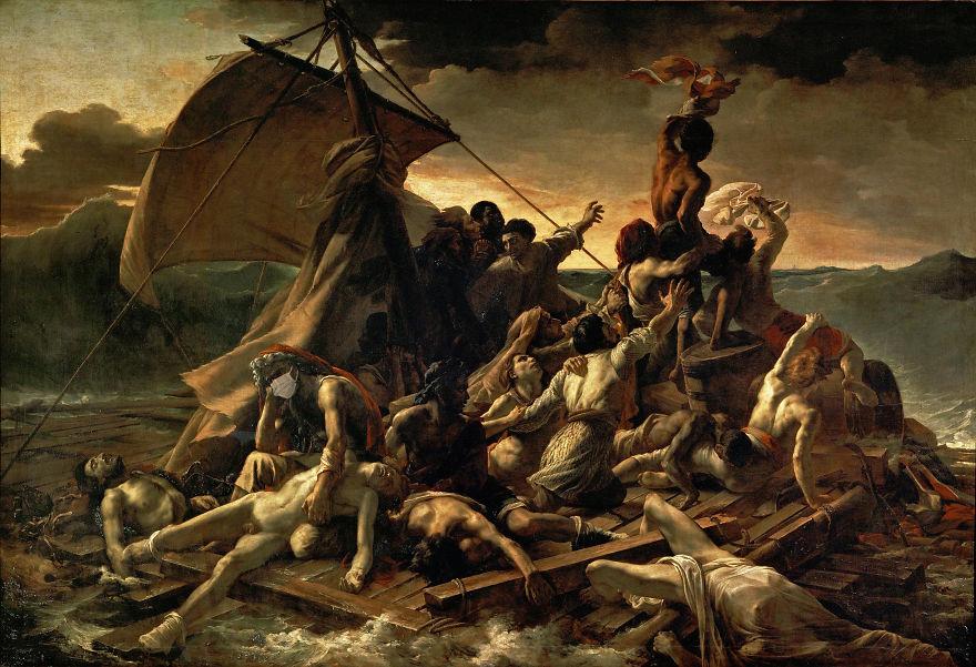 Raft Of The Medusa By Théodore Géricault, 1818