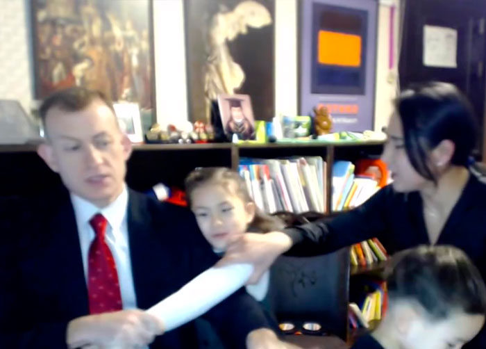 This Man's Kids Who Interrupted His Interview Are Back On The Air And People Are In Stitches