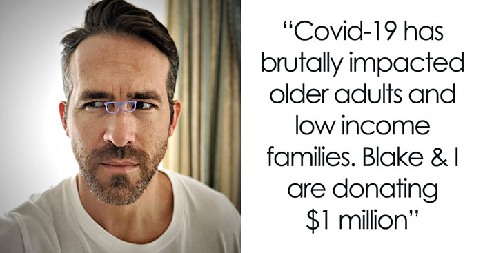 Ryan Reynolds Donates $1M To People Affected By Coronavirus But Doesn't Miss The Chance To Troll Hugh Jackman As Well