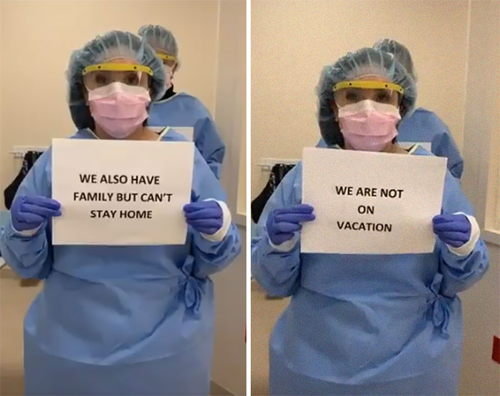 Doctors Are Uniting In Begging People To Stay At Home (15 Pics)