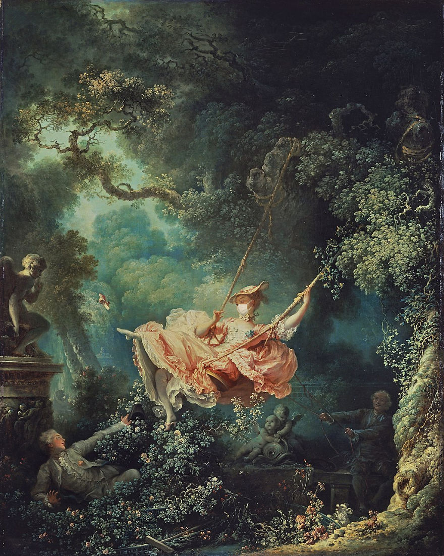 The Swing By Jean-Honoré Fragonard, 1767