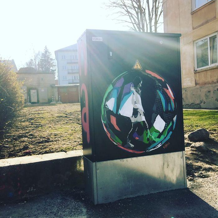 Tartu, Estonia. Artist: Princess Täna