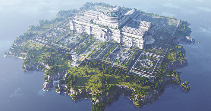 This Library In Minecraft Was Built By 24 People To Fight Censorship Across The World