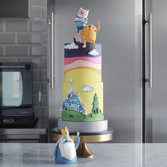 Tortik-Annushka-Artistic-Cakes-Designs