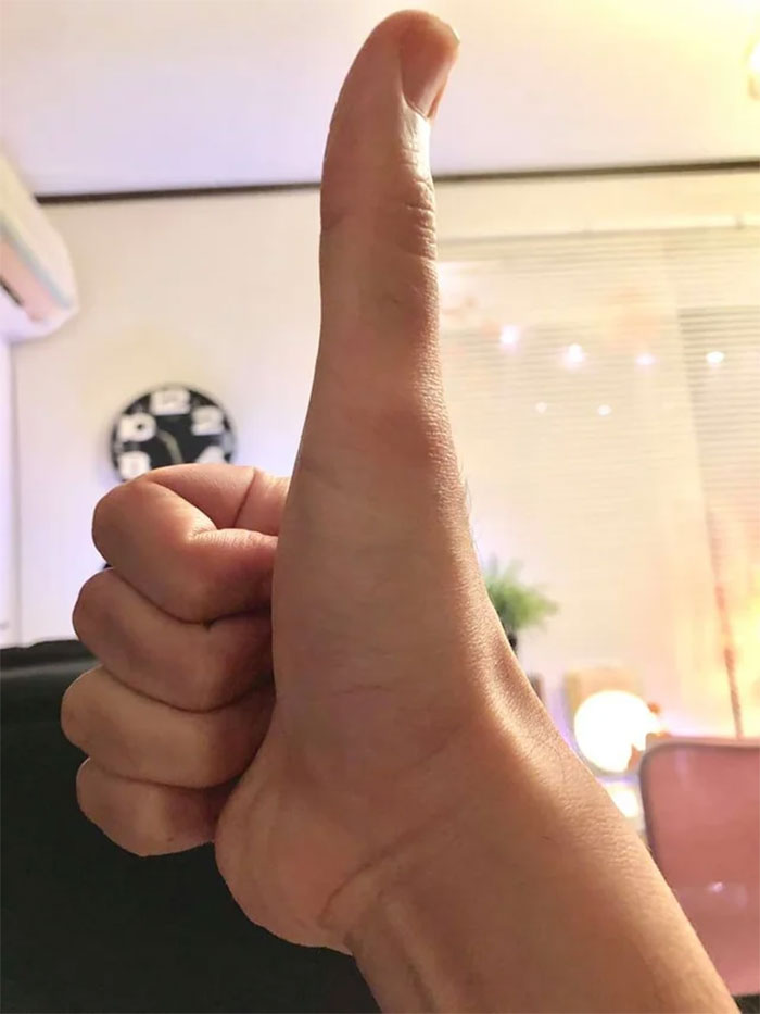 I Think My Thumb Is A Bit Too Big