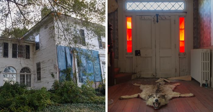 I Discovered An Abandoned House Filled With Creepy Things Inside Bored Panda