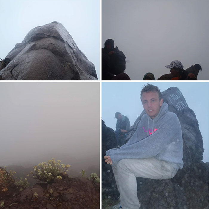 "10 Years Ago I Climbed The Volcano Of Bali ""Mount Agung"" 4 Am In The Morning To See The Beautiful Sunrise"