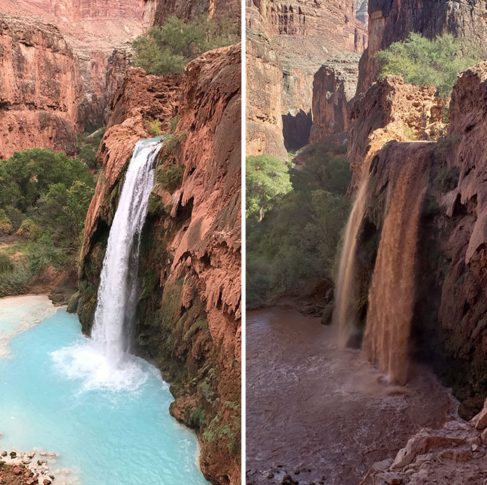 Hard-To-Obtain Permits For A 10 Mile Hike To See Havasupai Falls