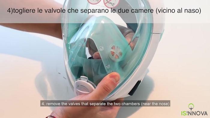 Italian Engineers Turn Snorkeling Masks Into Life-Saving Ventilators