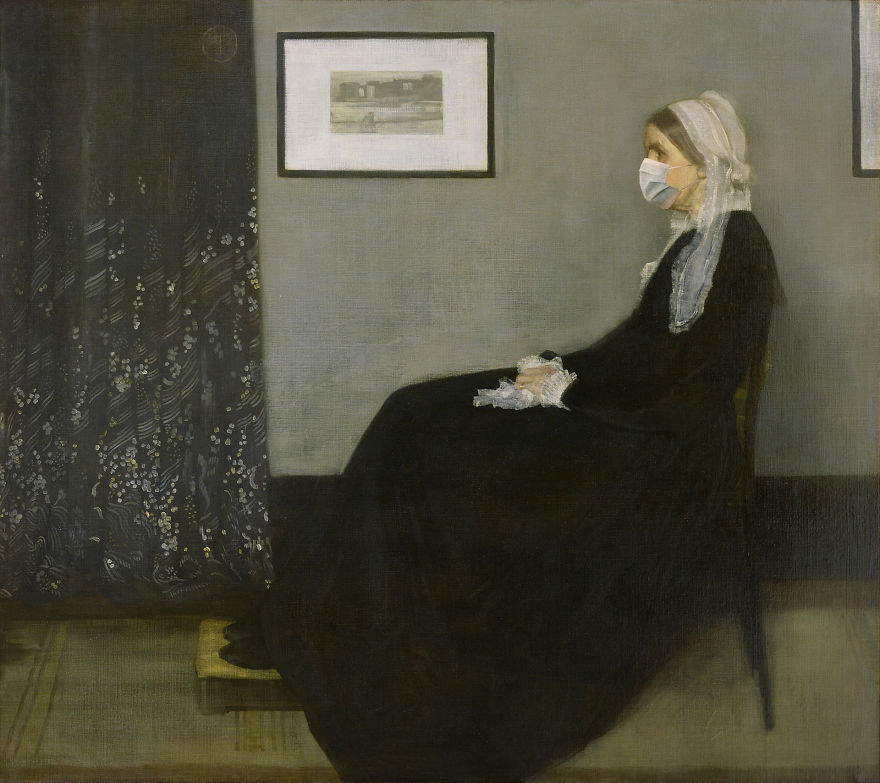Arrangement In Grey And Black No.1 By James Abbott Mcneill Whistler, 1870
