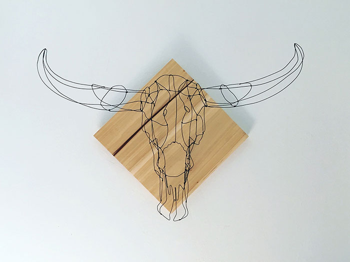 I Use Needle-Nose Pliers To Create These Wire Sculptures (50 Pics)