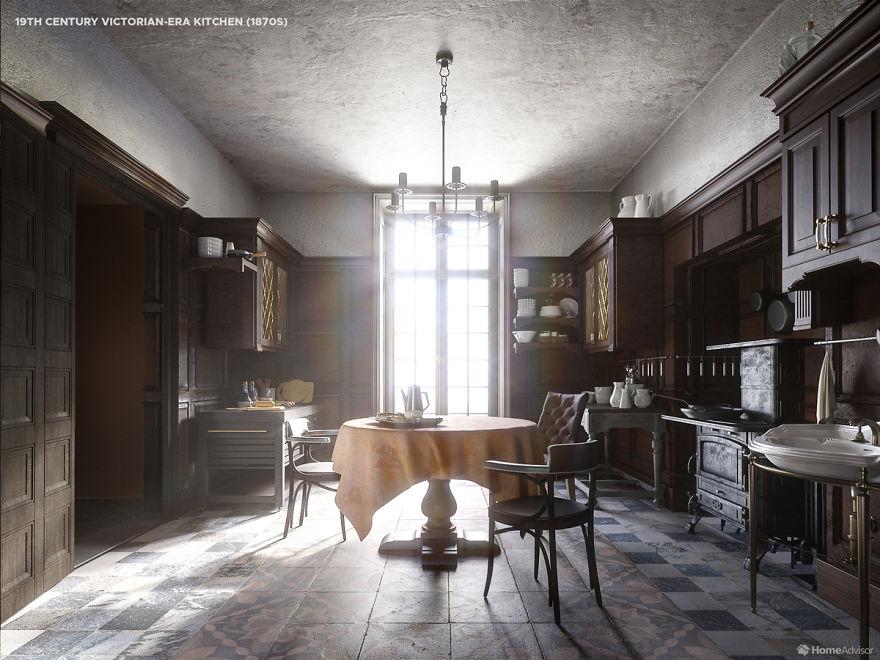 Dizajneri pokazuju kako se izgled kuhinja mijenjao u proteklih 5 stoljeća