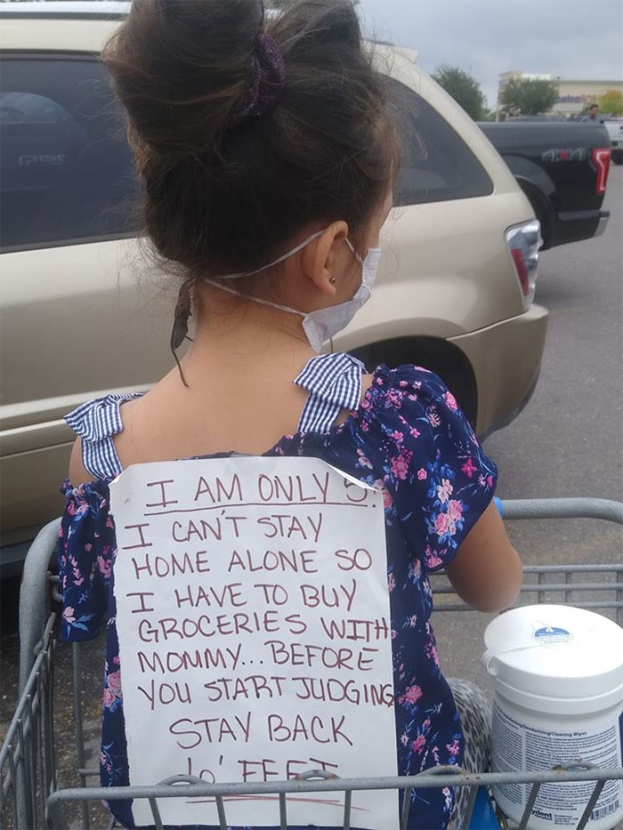 Single Parents Are Relating To This Mom's Rant Over People Who Judge Her For Taking Her Kid Grocery Shopping