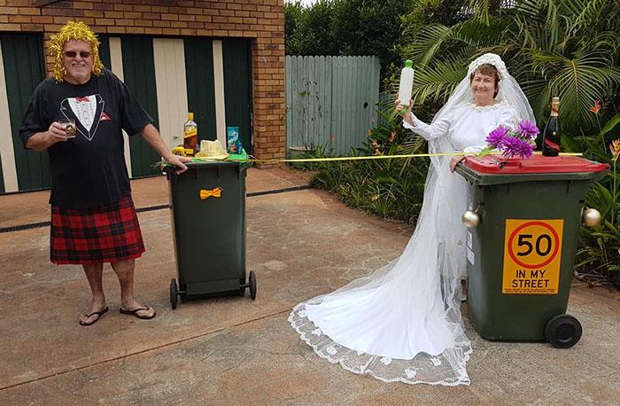 Australians-Dress-Up-Taking-Bins-Out