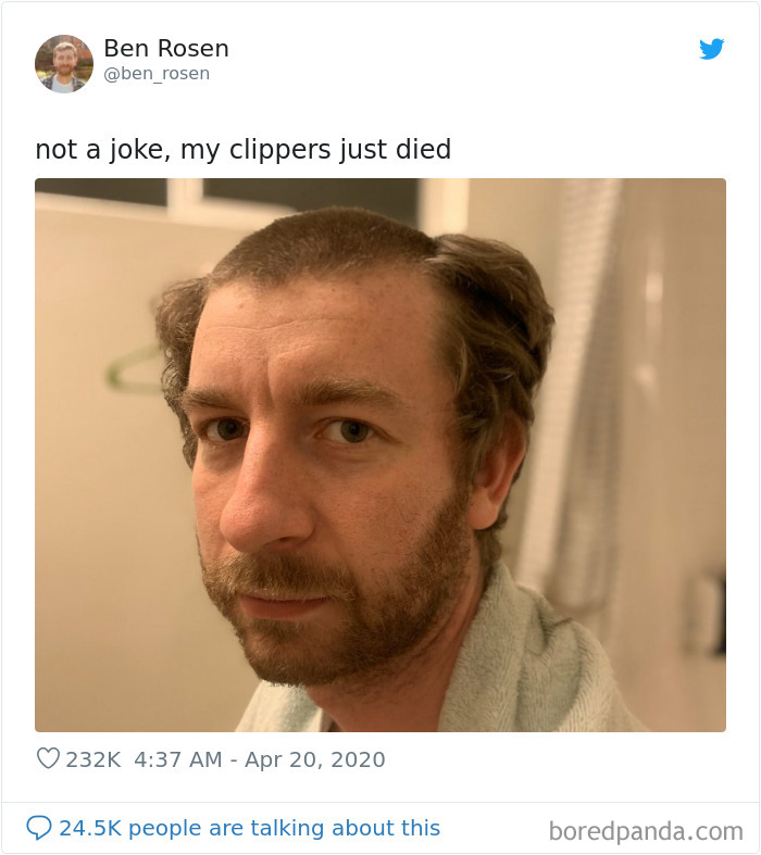 Classic Quarantine Haircut