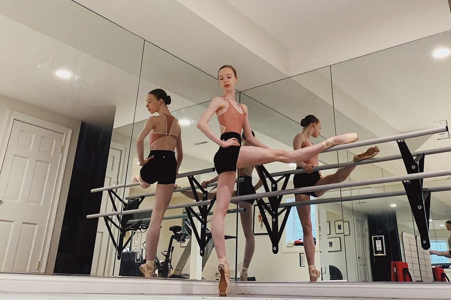 Elisabeth Beyer Student At American Ballet Studio