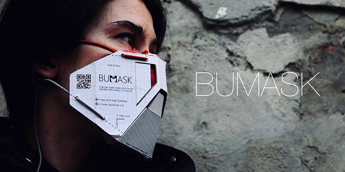 Designers Show How Everyone Can Make A Simple DIY Cardboard Mask With A Replaceable Filter At Home