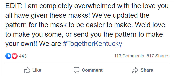 21 Y.O. Student Makes Face Masks For The Deaf And Hard Of Hearing