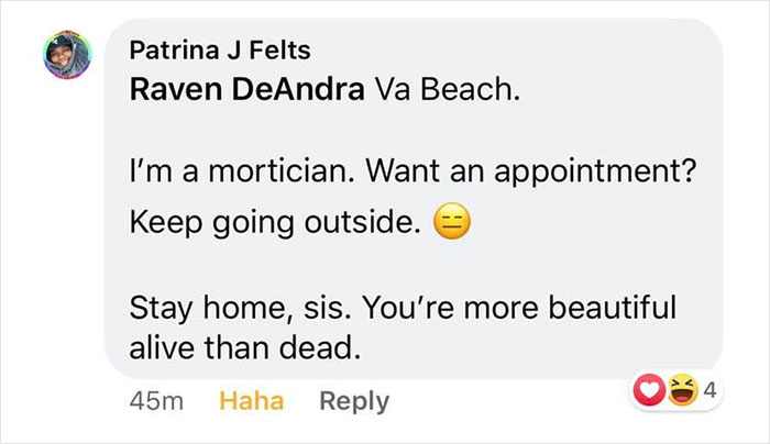 Woman Says Her Business Is Booming Doing Hair, Nails, And Makeup During Quarantine, Shuts Down Woman Who Asked About Her Services