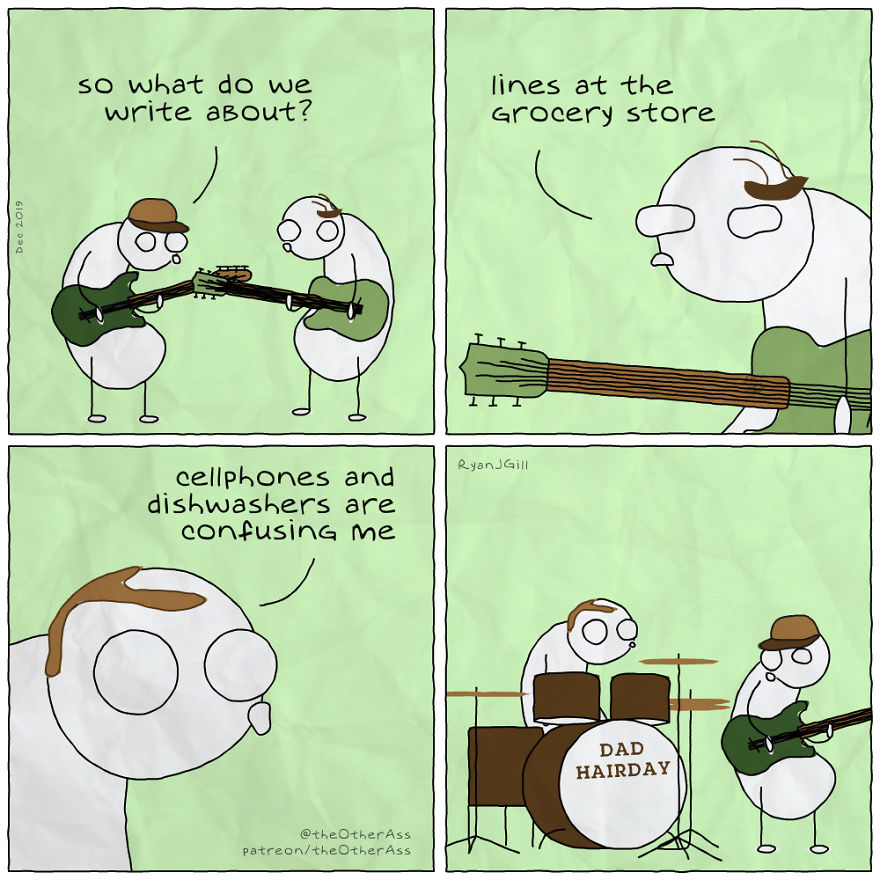 Music Comics That Are All Too Relatable