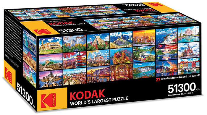Kodak Releases A 51,300-Piece Puzzle And It Should Last You All Of Quarantine