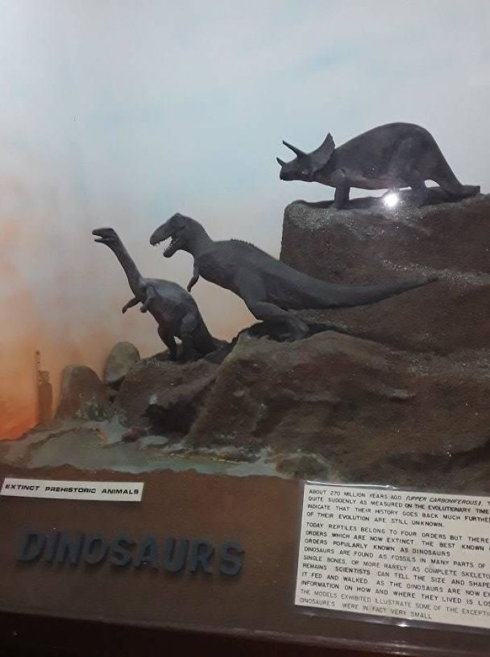 A Museum In Kenya Has Little Funding, So They Improvised And Created Their Dinosaurs With Clay