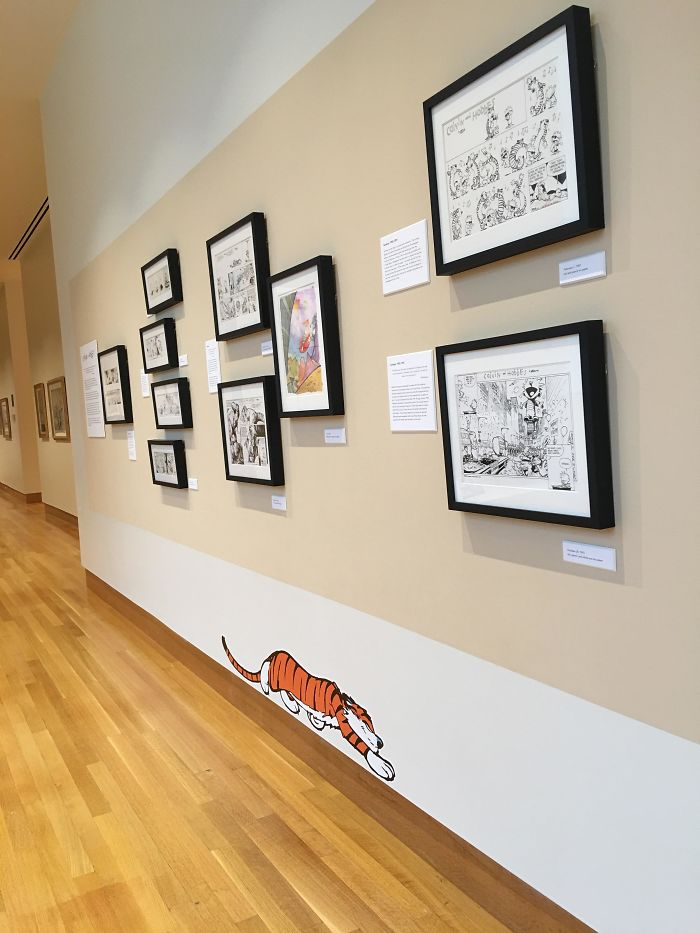 Passing Through Columbus, Had To Stop By The Cartoon Museum To See The C&H Section