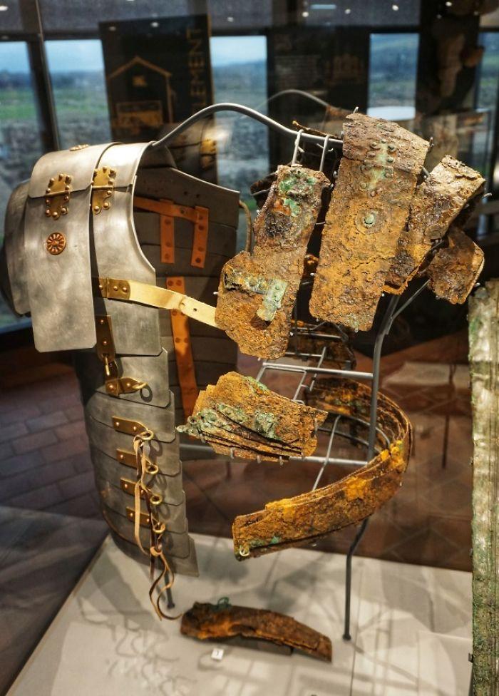 Museum Reconstruction Of Roman Armor