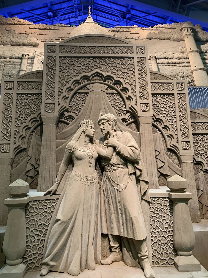 Sand Museum In Tottori Japan. How Does Someone Create This Out Of Sand?