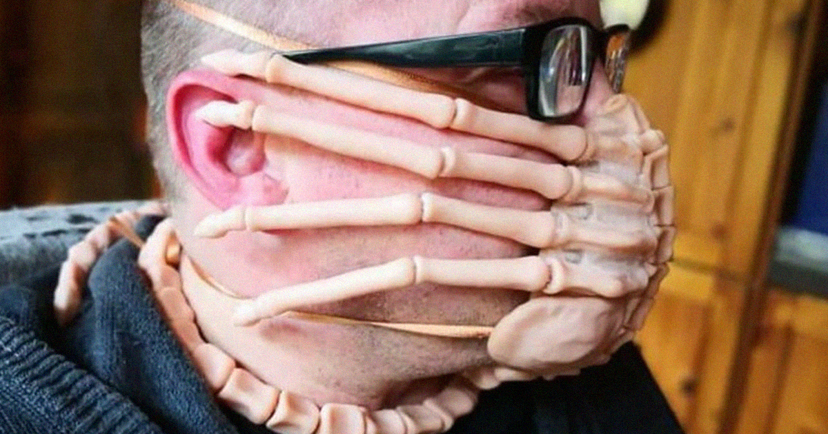 22 Times People Took Face Mask Design To Another Level Bored Panda