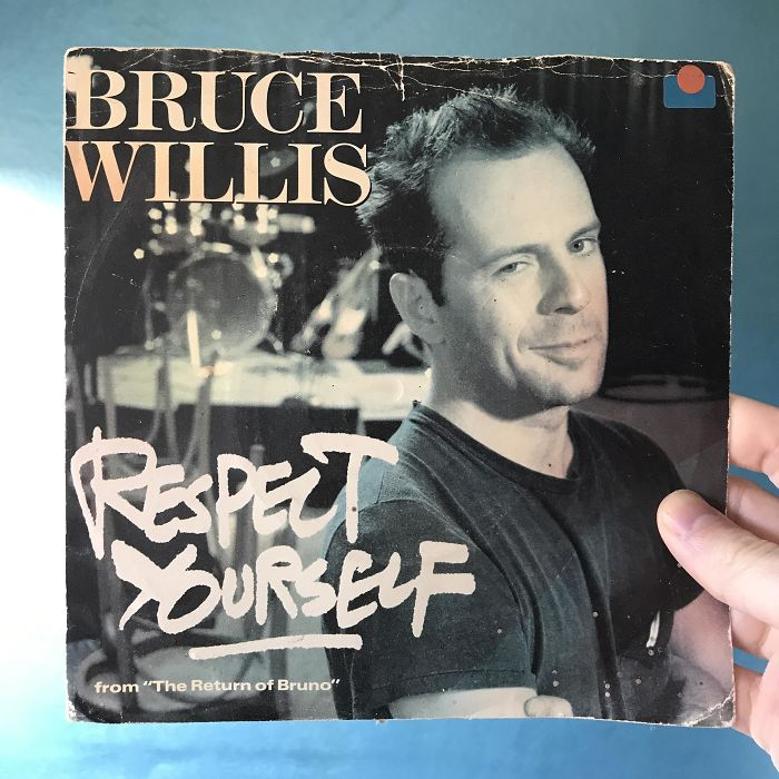 While Cleaning Out My Attic I Found Out That Bruce Willis Also Had An Early Music Career