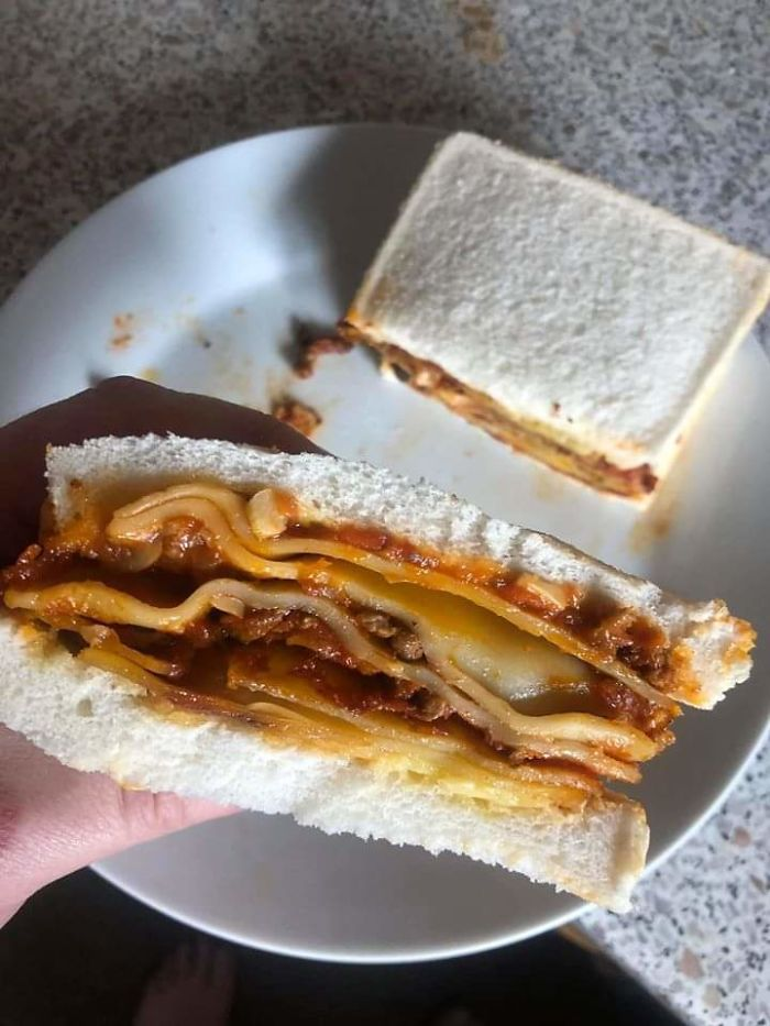 Lasagna Sandwich