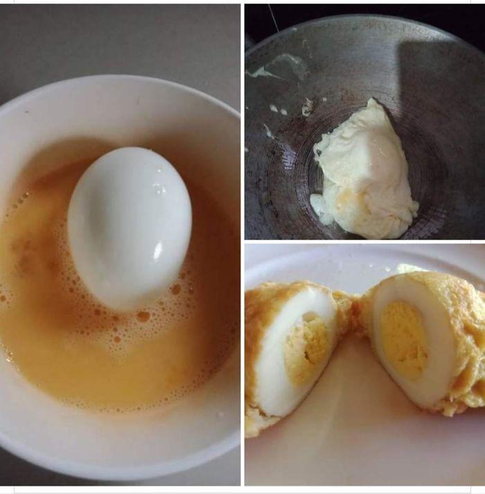 Egg Wrapped Egg