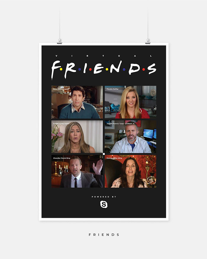 Someone Gave These 8 TV Show Posters The COVID-19 Treatment And It's Spot-On