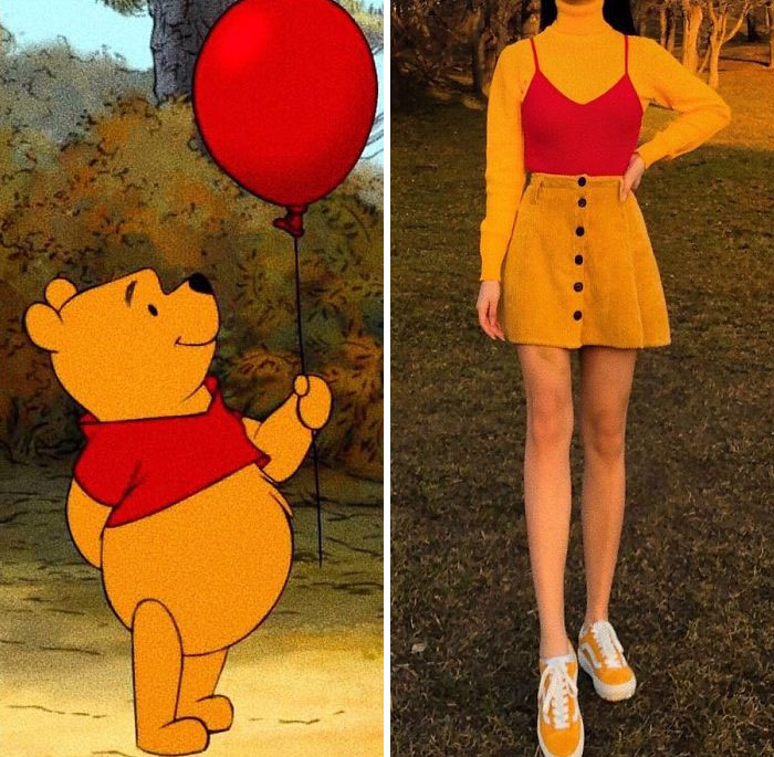 Winnie The Pooh Inspired Outfit