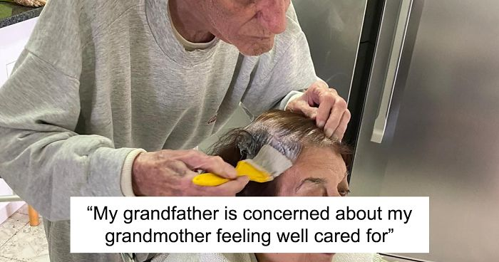 92-Year-Old Man Dyes Wife's Hair Amid Lockdown As She Can't Go To The Salon
