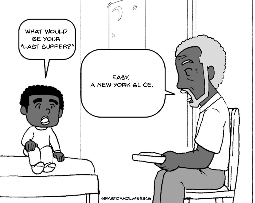 Not Your Typical Pastor Teaches What's In The New Yorker's Bible (12 Comics)
