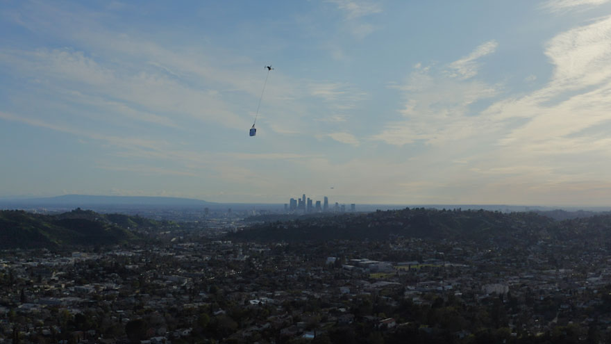 This Guy Used His Drone To Deliver A Burrito To Himself