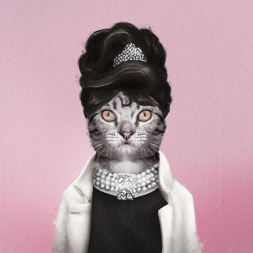 Pawdrey Hepburn
