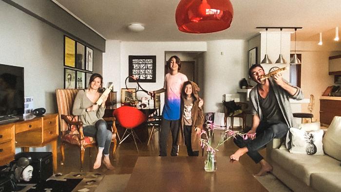 Argyro, Aris, Ilia, And Michalis (Athens, Greece)