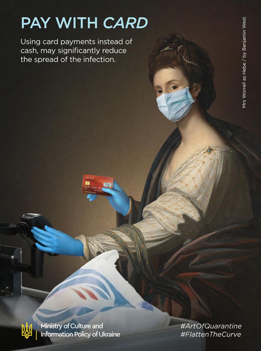 Art Of Quarantine: 9 Famous Art Posters Adjusted To Quarantine