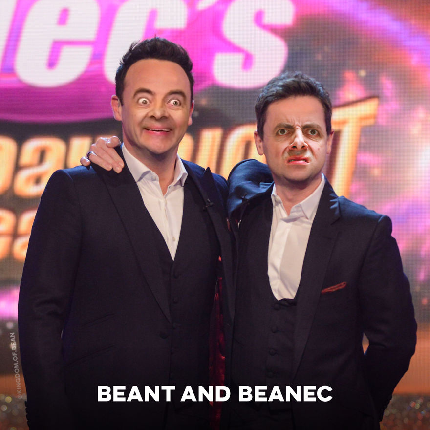 Ant And Dec As Mr. Bean