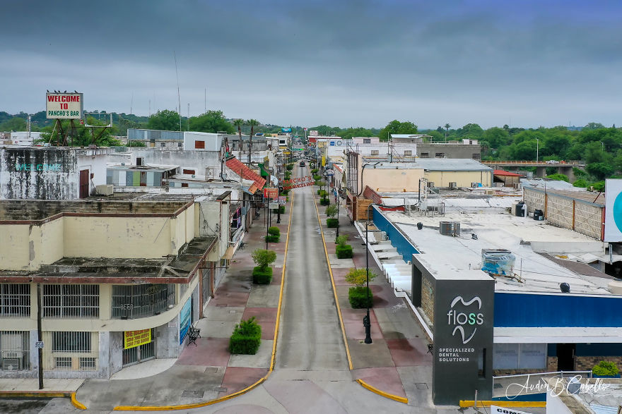 I Went Out And Took 19 Aerial Photos To Capture How Covid-19 Is Affecting Businesses In The Border Town Of Ciudad Acuña, Mexico.