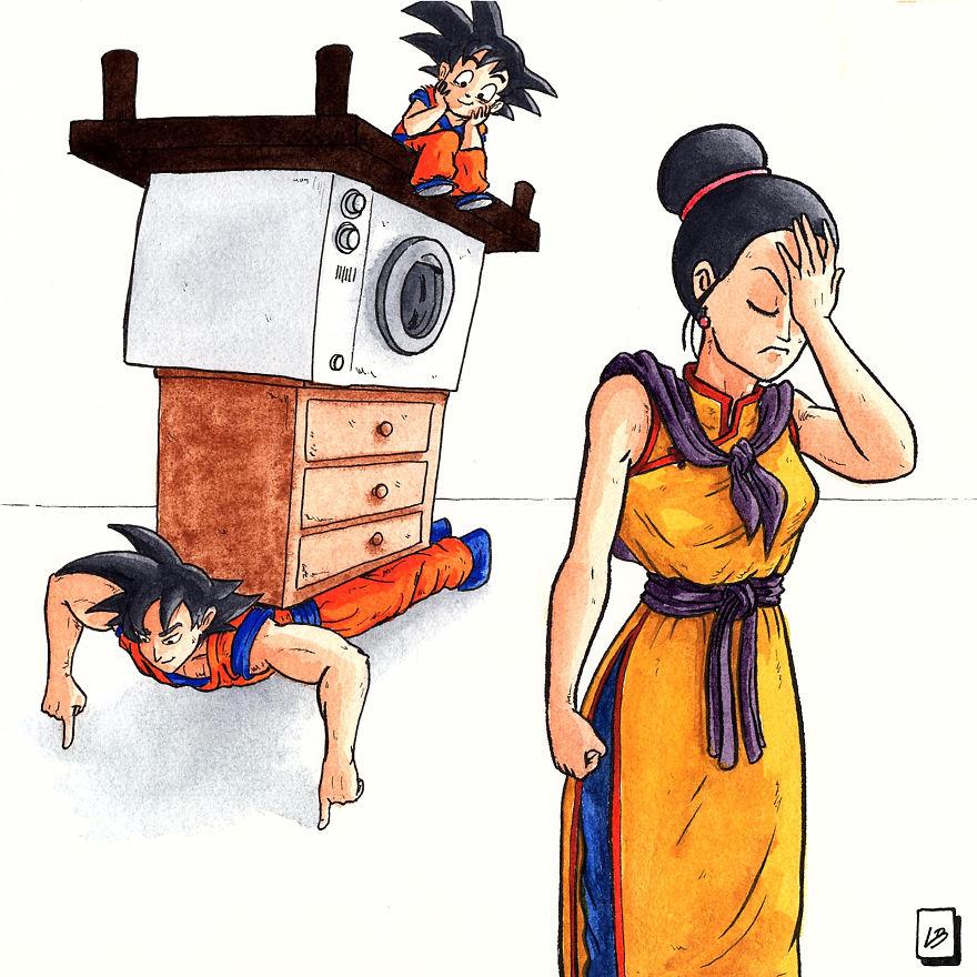 Work Out Like Son Goku