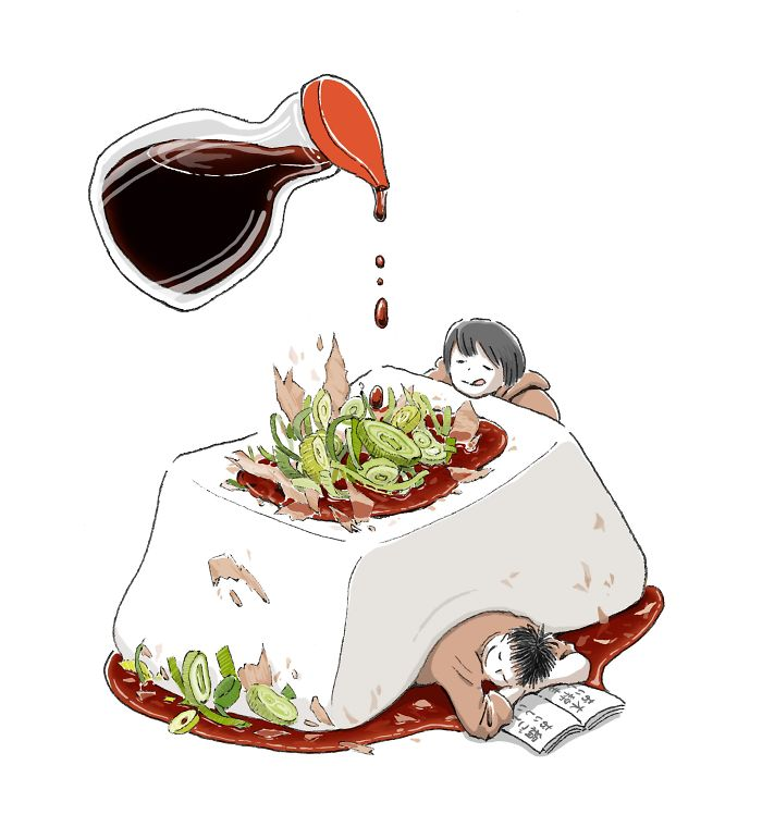 The Japanese Artist Mixes Worldly Life With Food And The Result Is As Comforting As It Is Appetizing