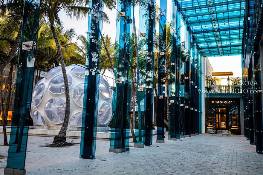 I Photographed The Deserted Streets Of Miami Design District During The Quarantine