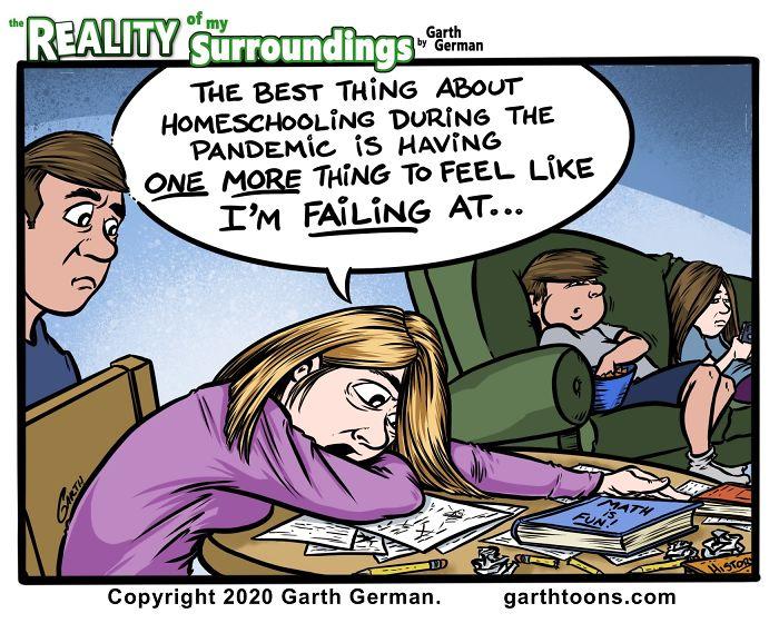 Homeschooling Is Hard, Again.
